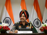Indian army's director general of military operations Lt General Ranbir Singh speaks during a media briefing in New Delhi, India, September 29, 2016. REUTERS/Stringer  FOR EDITORIAL USE ONLY. NO RESALES. NO ARCHIVES. NOT FOR SALE FOR MARKETING OR ADVERTISING CAMPAIGNS     TPX IMAGES OF THE DAY      - RTSPYYB