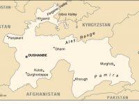 Map of Tajikistan the University of Texas at Austin
