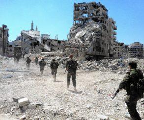 Syrian, War