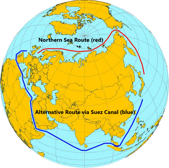 China's trade routes