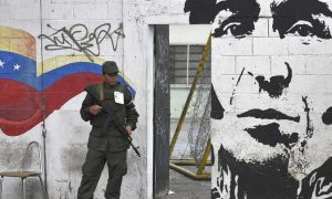 Venezuela, Russia, Battleground