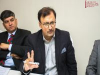Ambassador (R) Hasan Javed and Dr Khalid Banuri (left to right)