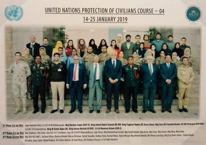 UN, Civilians Protection Course