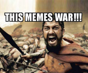 "Information Social War is the Continuation of Politics by Other ""Memes"""