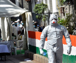 Mapping the COVID-19 Outbreak in India