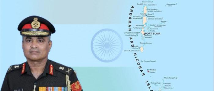 Lt Gen Manoj Pande, India's 15th Andaman and Nicobar Command Chief